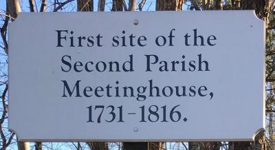 Second Parish Meetinghouse