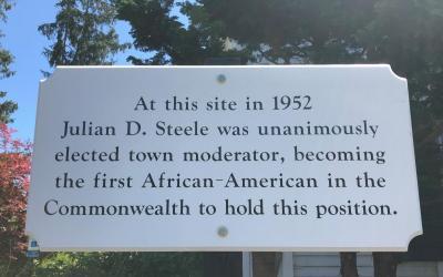 Julian Steele Historic Marker