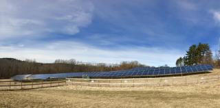 West Newbury's solar field had provided a rolling 12-month average of over $55,000 to the Town as of June, 2020