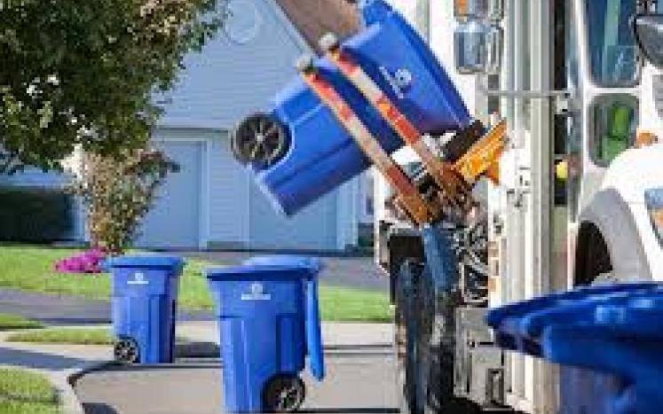 curbside waste pickup