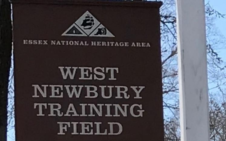 Training Field sign